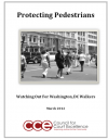 CCE Releases Report on Pedestrian Safety in DC