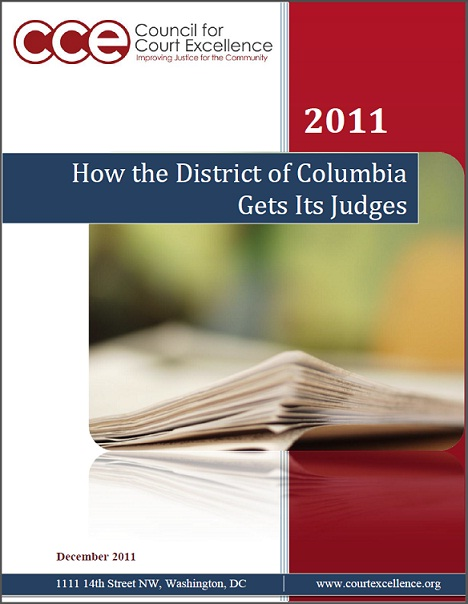 How the District of Columbia Gets its Judges